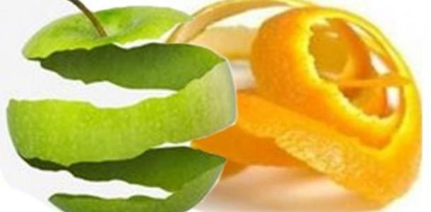 Meyve ve Sebzelerin Kabuklarını Atmayın!