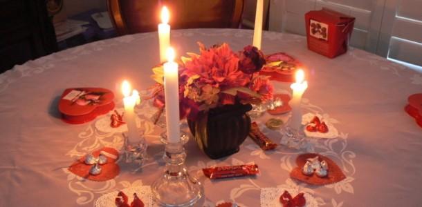 Romantik Masa Hazırlama Önerileri