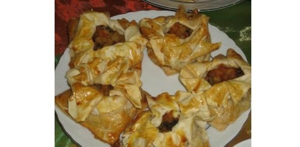 Patlıcanlı Bohça Böreği Tarifi