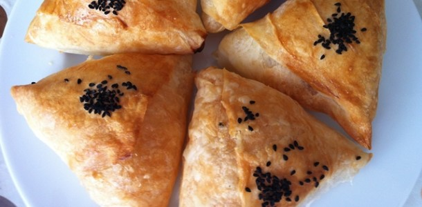 Peynirli ve Kıymalı Muska Böreği Tarifi