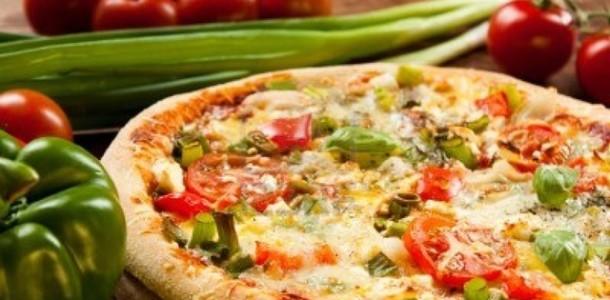 Vejetaryen Pizza Tarifi