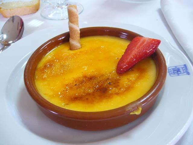 Crema Catalana Tatlısı