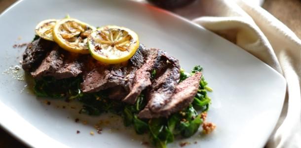 Ballı ve Ispanaklı Biftek Tarifi