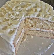 Beyaz Çikolatalı Muzlu Kek Tarifi