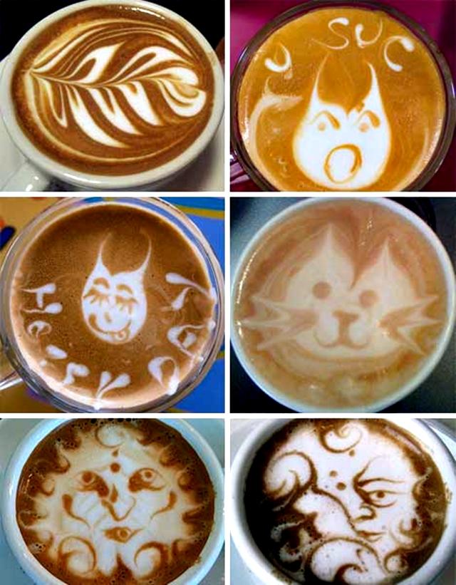 Kahve Köpüğünden Sanat