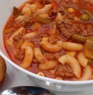 Sebzeli Makarna Çorbası Tarifi