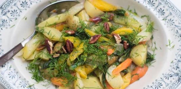 Zeytinyağlı Sebze Yemeği Tarifi